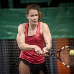 Tennisspilleren Karoline Laursen