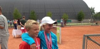 Holger Vitus Nødskov Runes og Clara Tauson