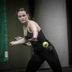 Tennisspilleren Camilla Flintholm Jensen