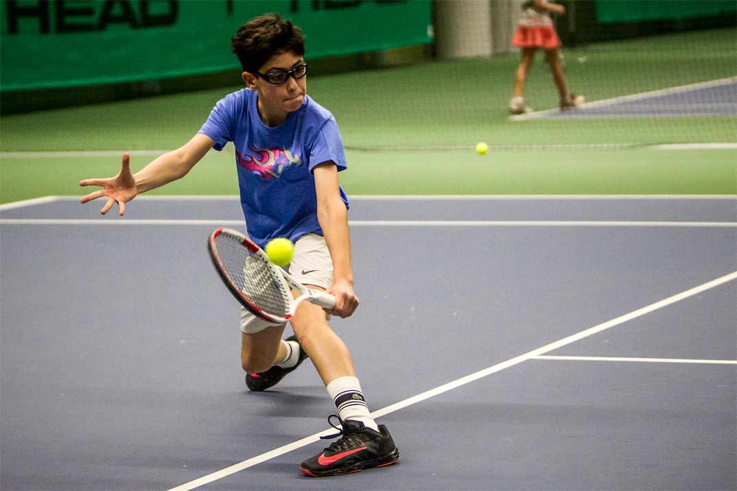 Tennisspilleren Caspar Jalili Mikkelsen