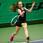 Tennisspilleren Sille Larsen