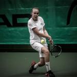 Tennisspilleren Olivia Gram