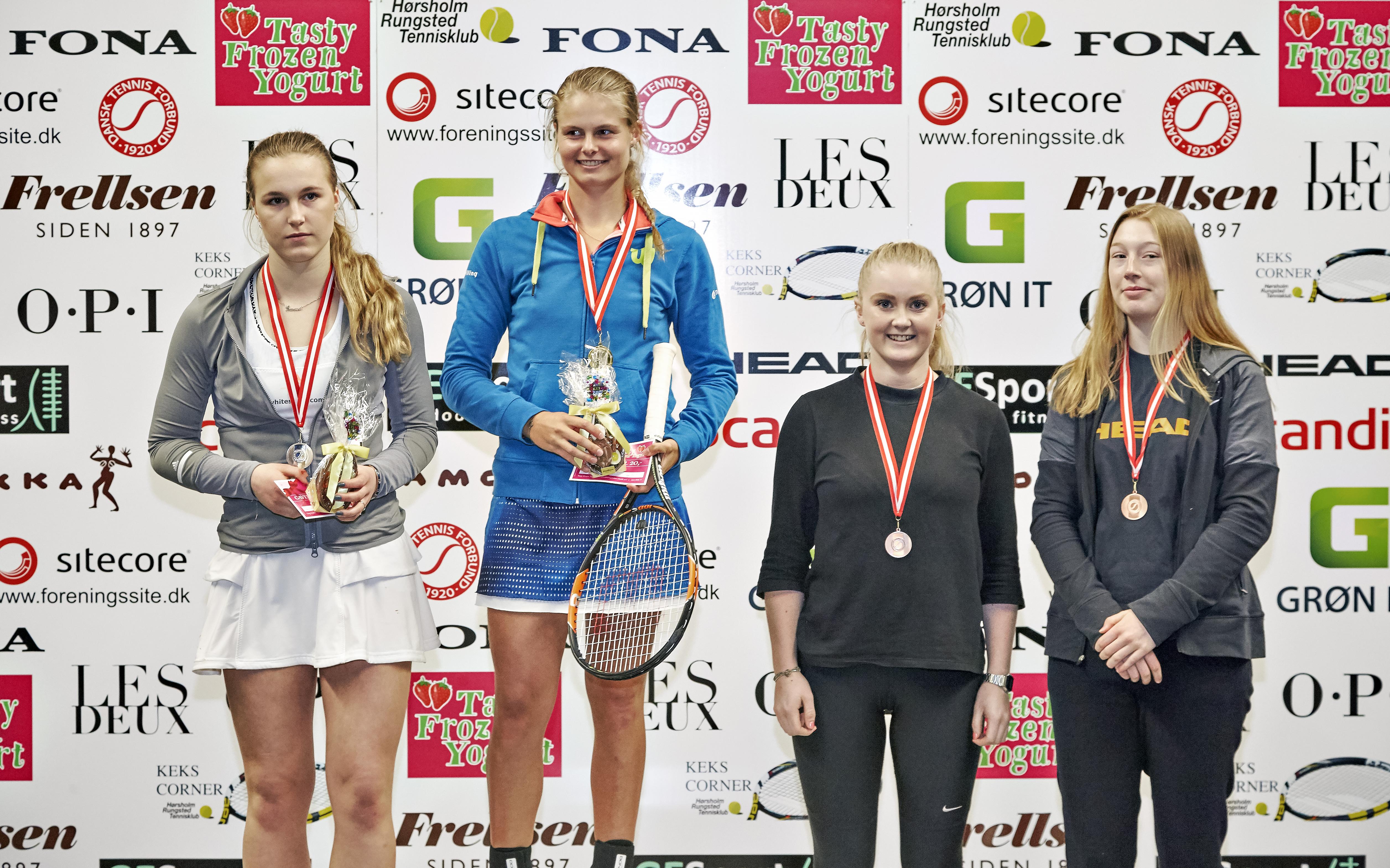 Emma Rønholt, Frederikke Svarre, Mia Schmidt Jørgensen, Sidsel Dahl Pehrseon