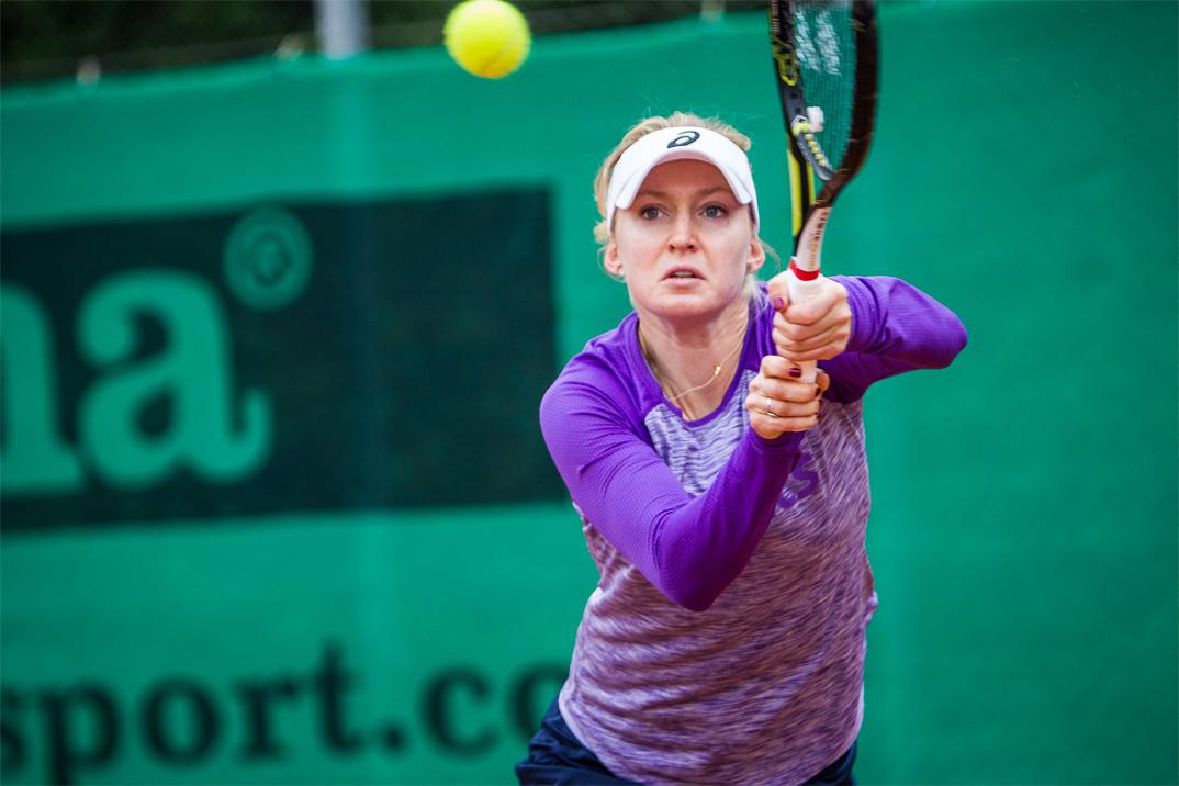 Tennisspilleren Julia Boserup