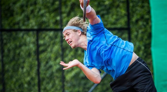 Tennisspilleren Frederik Schoop Nymann