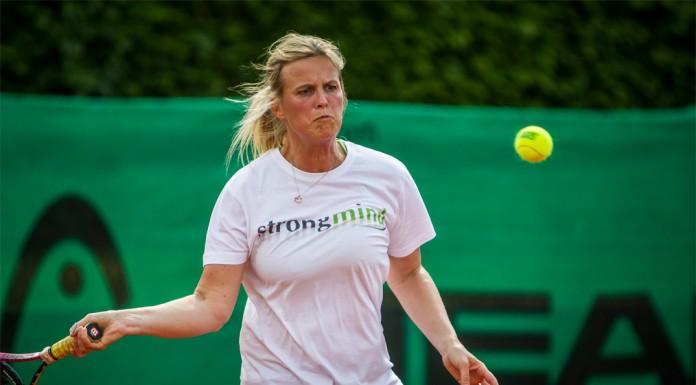 Tennisveteranen Charlotte Gallina