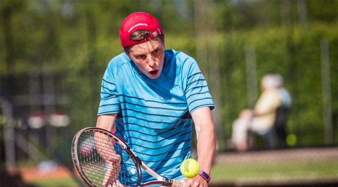 Tennisspilleren Martin Nygård Knudsen