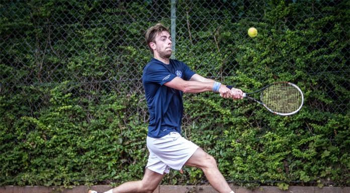 Tennisspilleren Alexander Kønigsfeldt