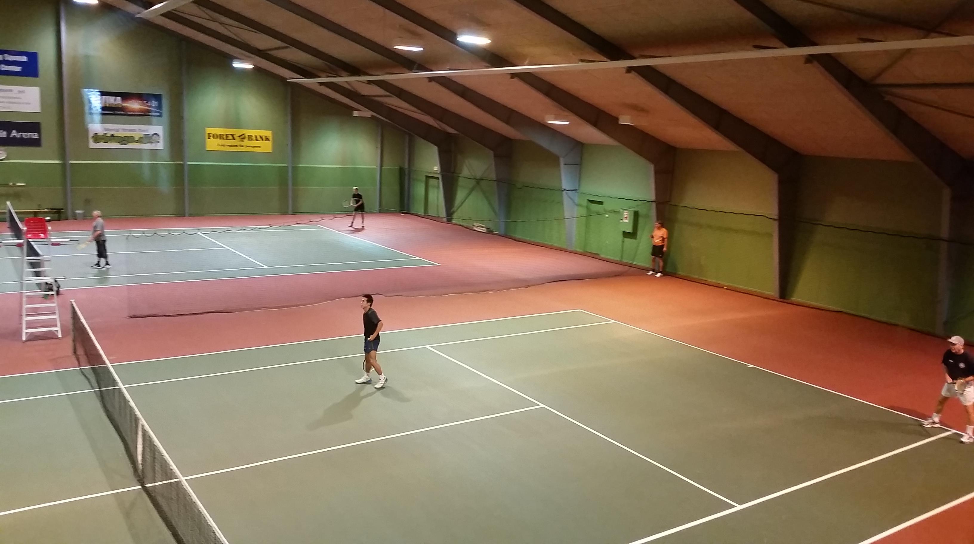 Tennishallen i Nørresundby.