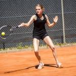 Tennisspilleren Sofia w Munch