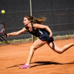 Tennisspilleren Sille Tranberg