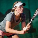 Tennisspilleren Sofie Aamot Mønster