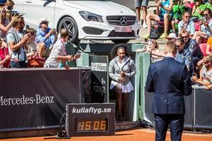 Tennisspilleren Serena Williams