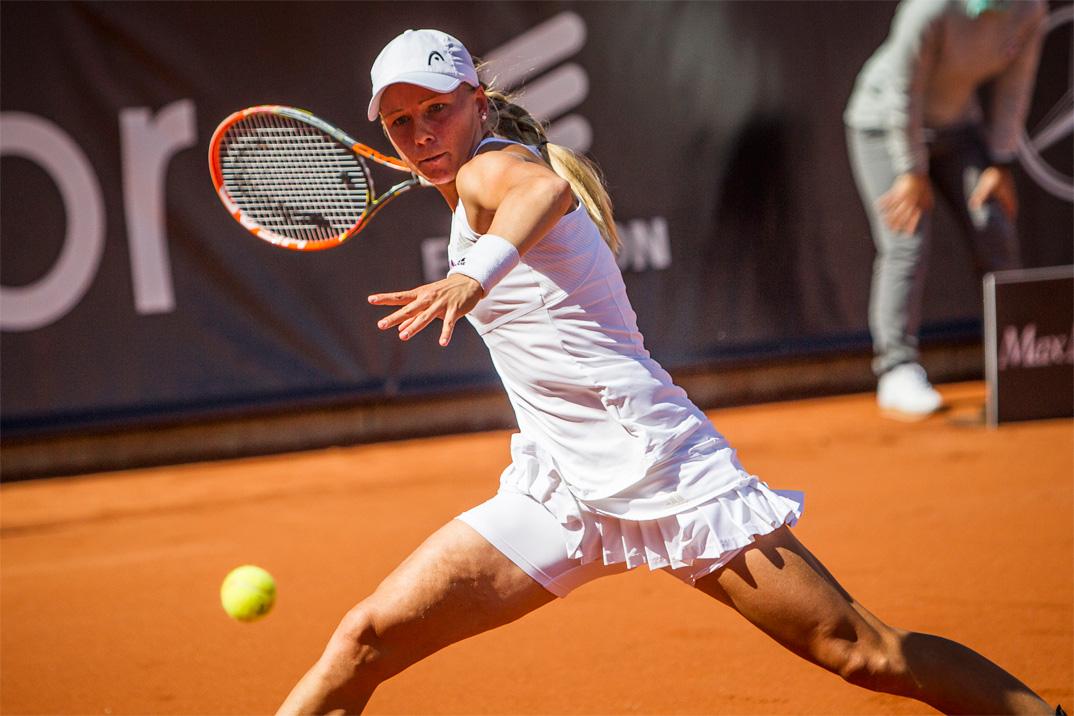 Tennisspilleren Johanna Larsson