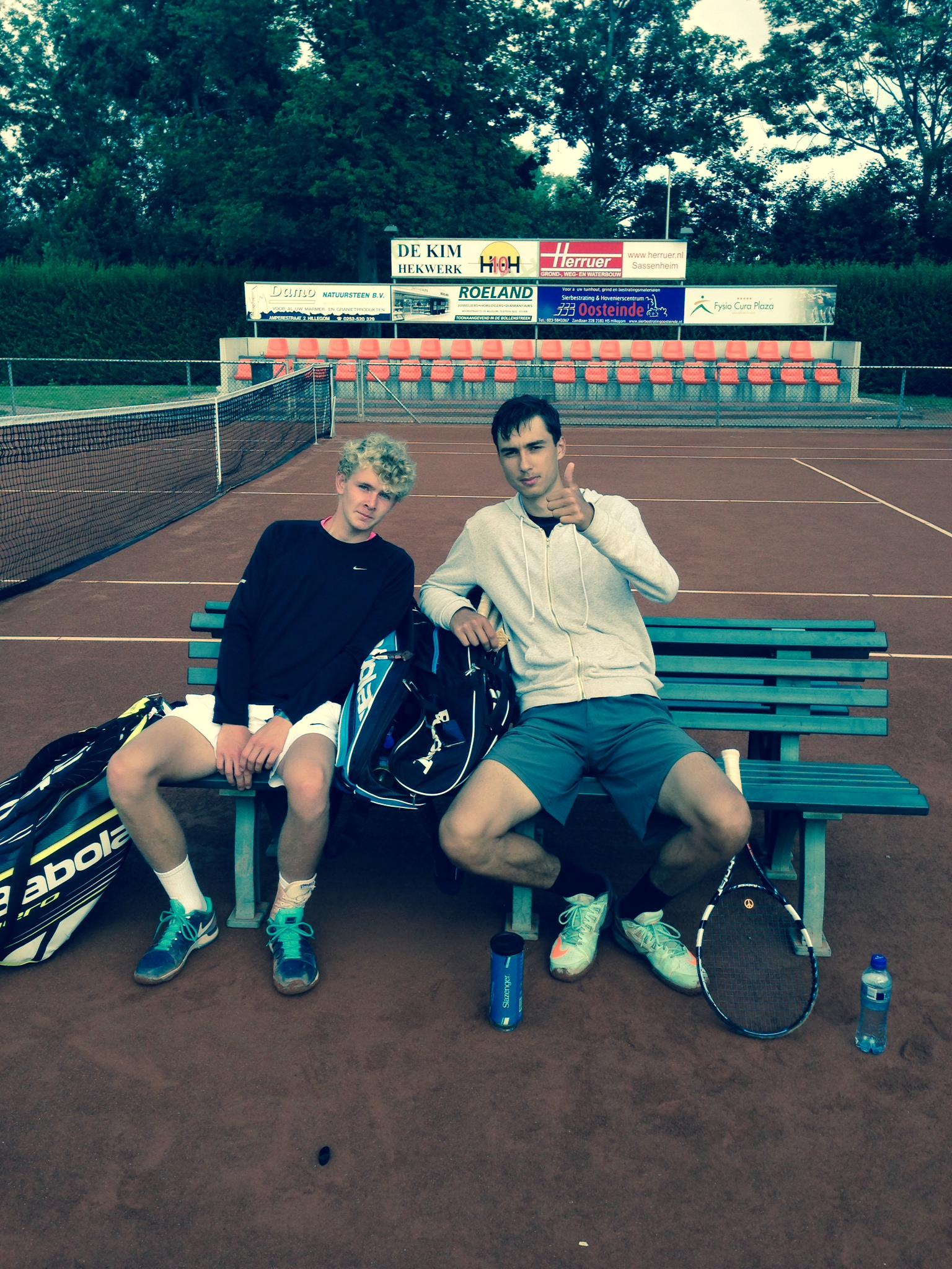 Kasper Elsvad og Nikolaj Katic