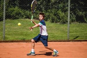Tennisspilleren Gustav Almer Lausen