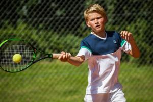 Tennisspilleren Victor Bech Frandsen