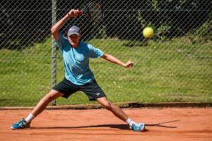 Tennisspilleren Frederik Von W. Beltner