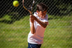 Tennisspilleren Nicolai Gonzalez-Knudsen