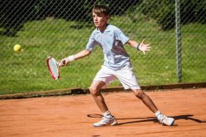 Tennisspilleren Frederik w.n. Horsten