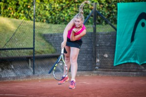 Tennisspilleren Cecilie Melsted