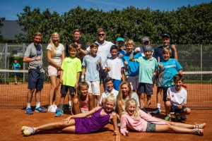 Elite Camp Birkerød Tennisklub uge 32, 2015