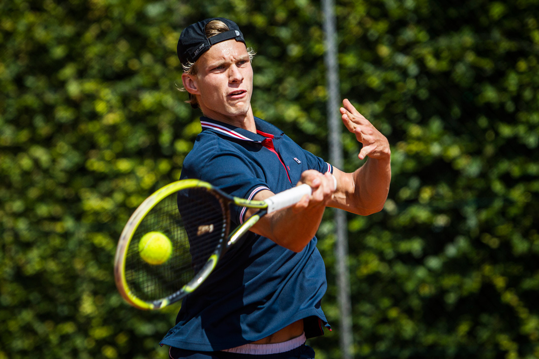 Tennisspilleren Nicolai Ferrigno