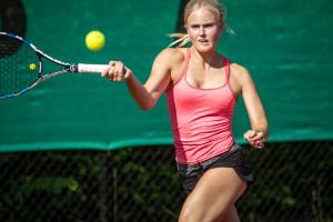 Tennisspilleren Elisabeth Nørgaard