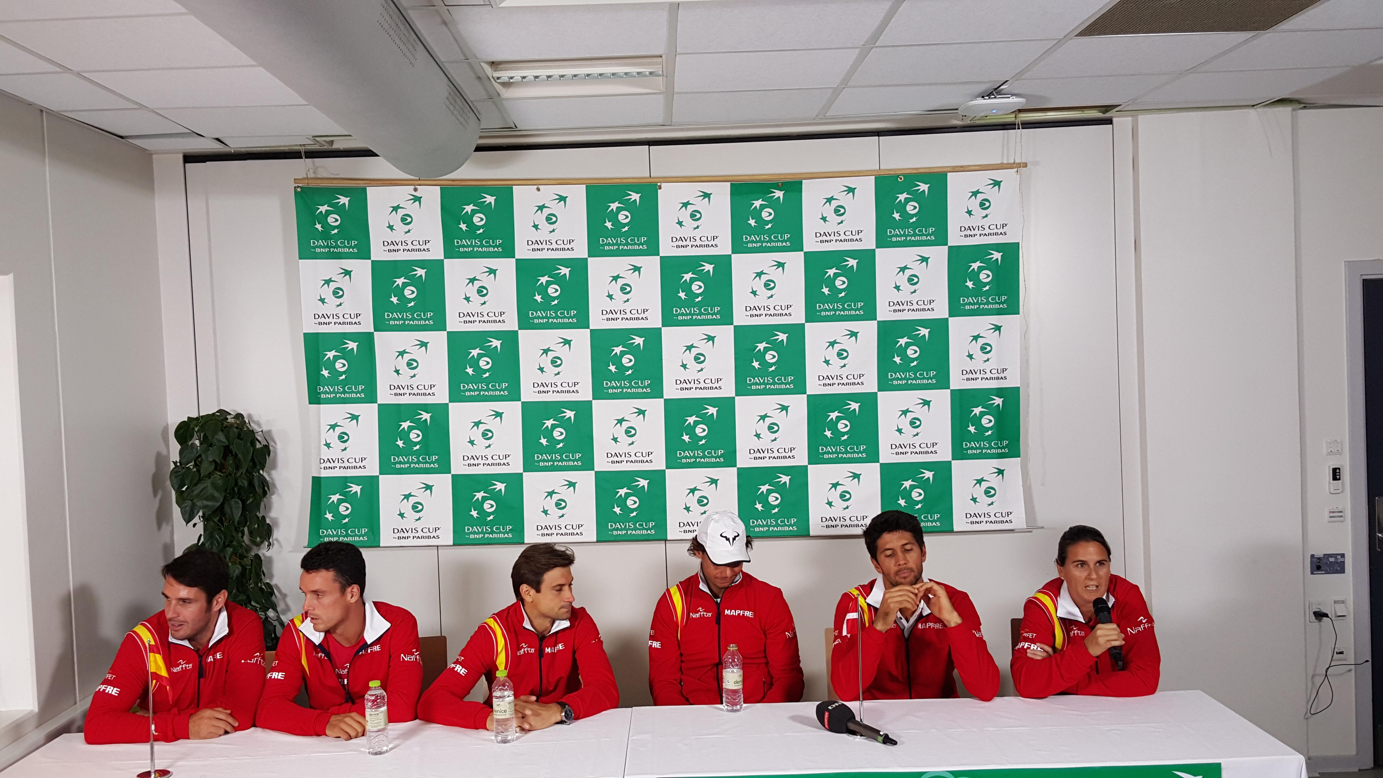 Spaniens Davis Cup hold