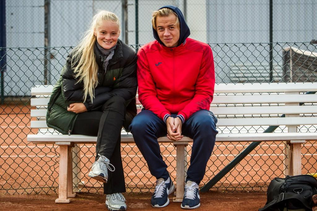 Ida Emilie Stilling Krause og Frederik Nymann Schoop