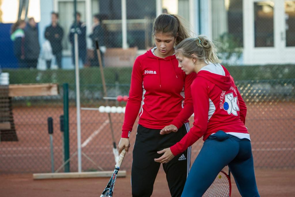 Katarina Stupic og Kathrine Berge