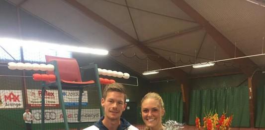Philip Ørnø og Emilie Francati