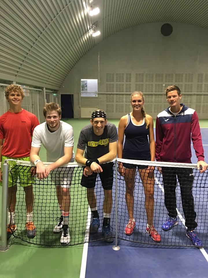 August Holmgren, Christian Sigsgaard, Jarko Niemenen, Emilie Francati, Philip Ørnø