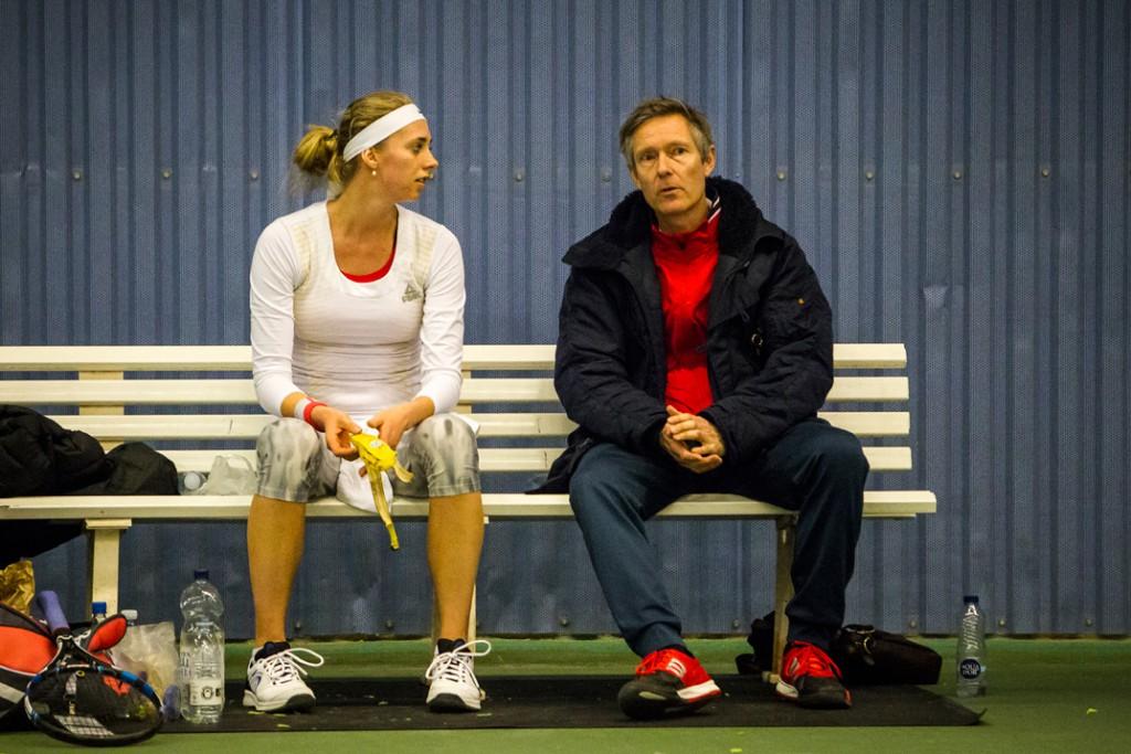 Cornelia Lister og John Larsen