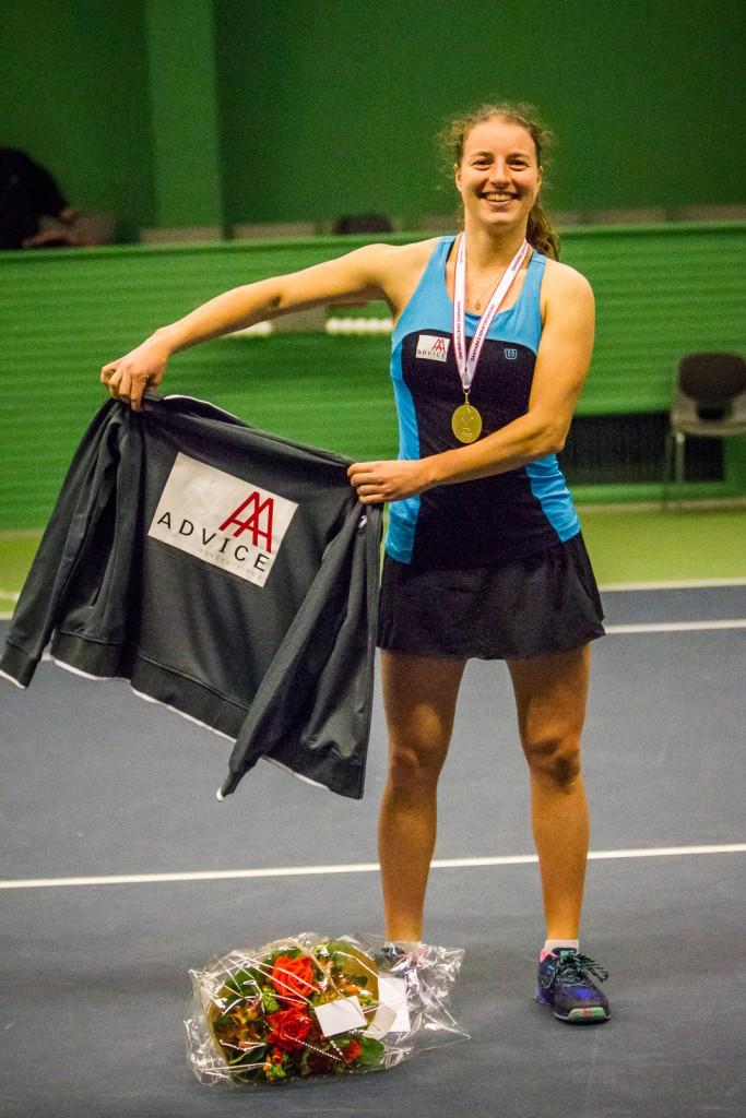 Karen Barritza (tidligere Barbat), Danmarksmester indendørs 2016