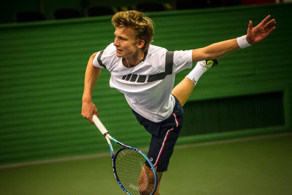 Johannes Ingildsen. Danmarksmester indendørs 2016