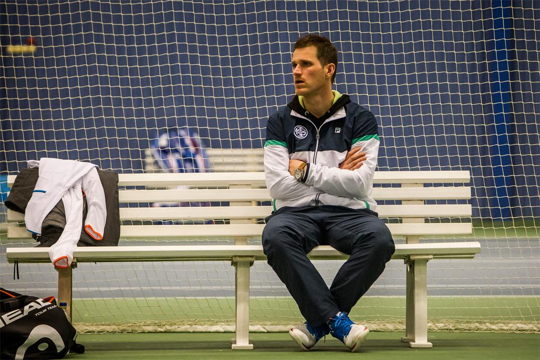 Tennistræner Mikkel Nørby