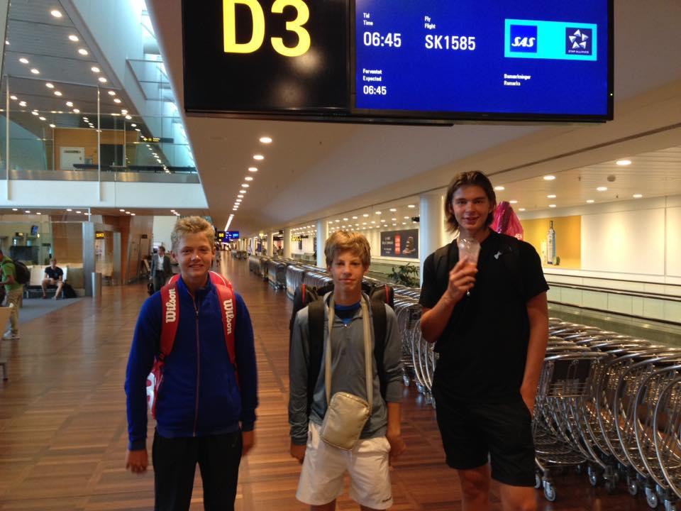 Sebastian Grundtvig, Niels Heise Korsgaard, Jesper Andy Jørgensen