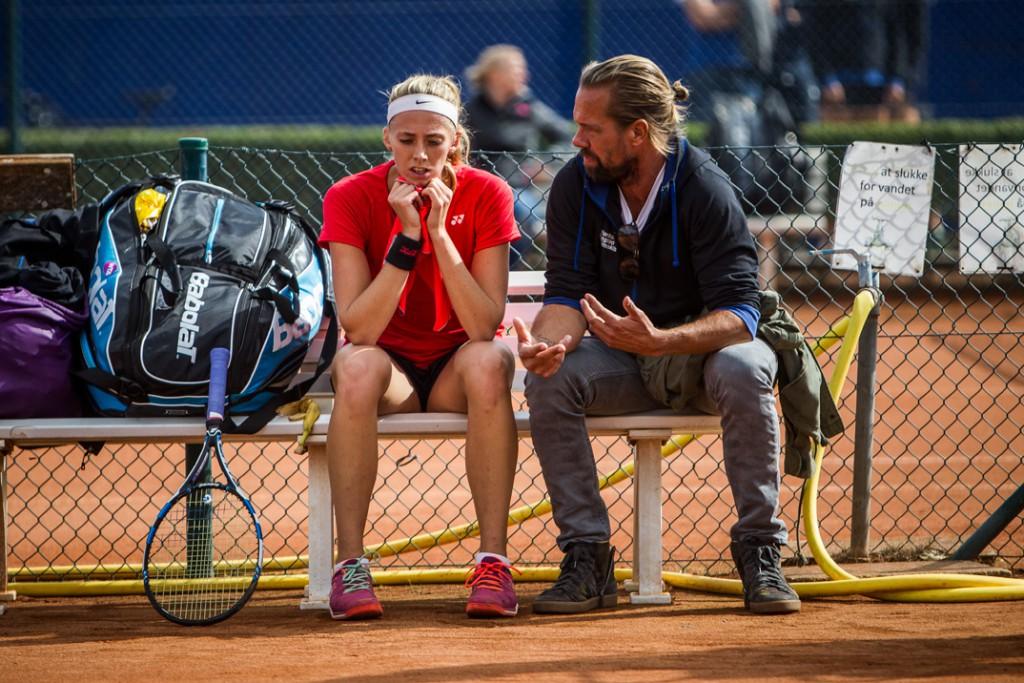 Cornelia Lister og Kim Bengtsson