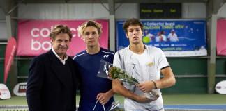 Anders Borg, Casper Ruud, Gianluigi Quinzi