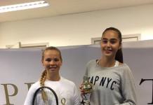 Olga Helmi og Melis Yasar