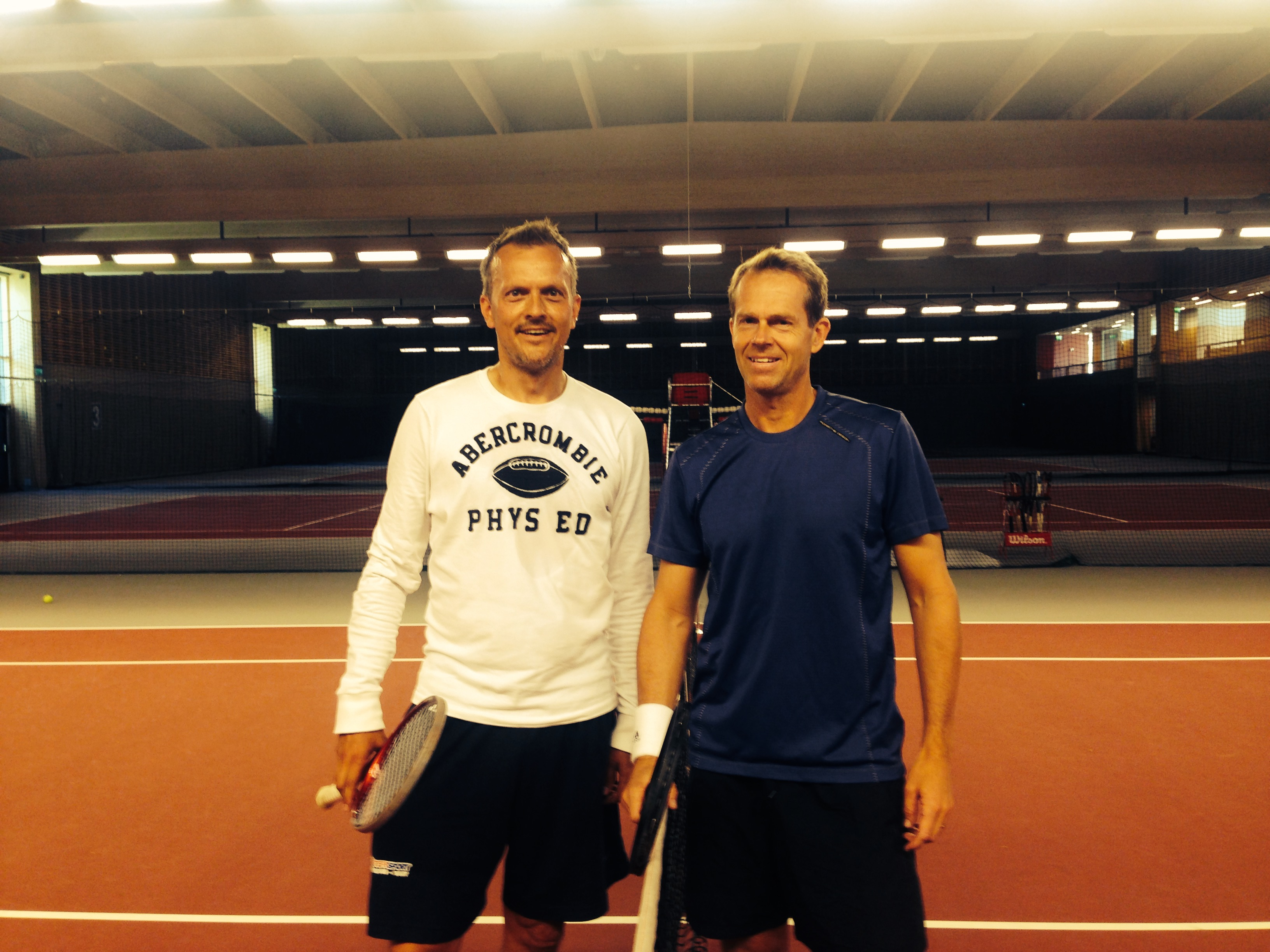 Thomas Schouboe, Stefan Edberg