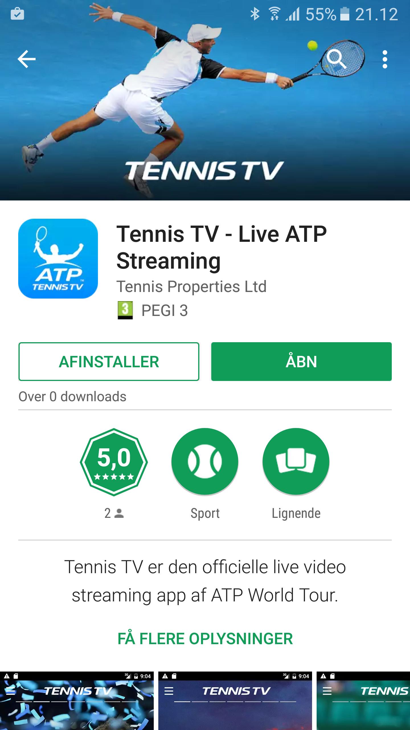 Tennistv App