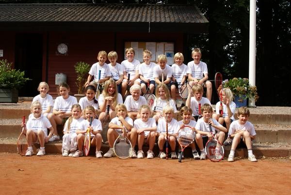 Juniorer i Trørød Tennisklub