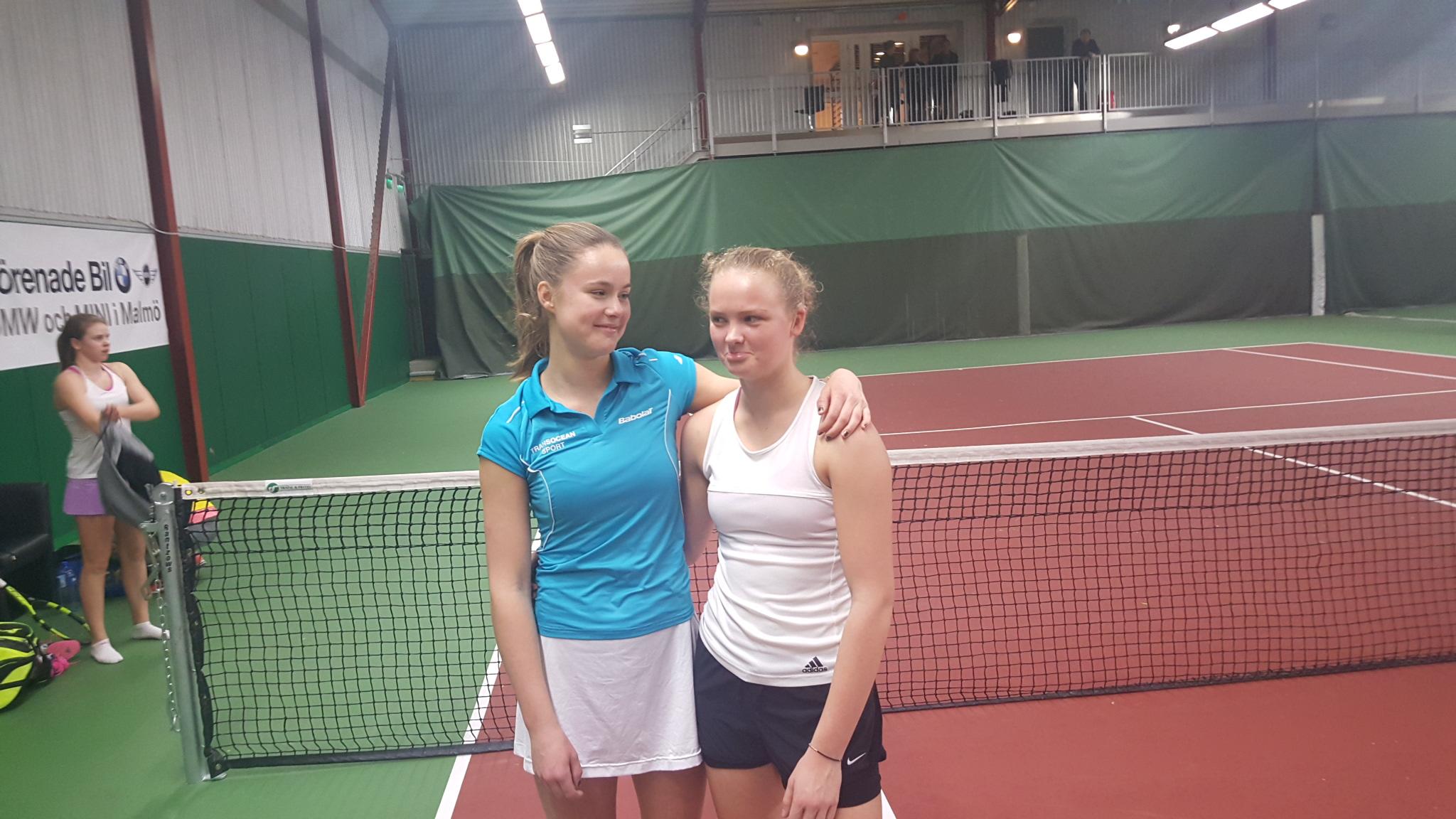 Linnea Sophie Dissing Fristam og Mathilde Tranberg