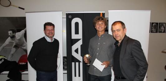 Clalus Ketterte (Cool Sport), August Holmgren, Christian Kurt Nielsen