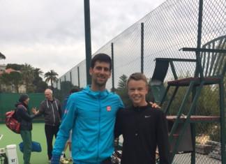 Novak Djokovic, Holger Vitus Nødskov Rune