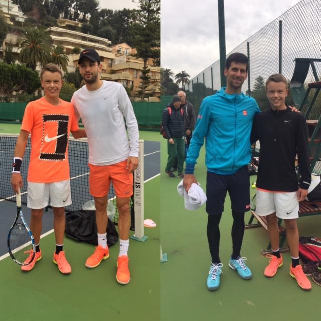 Holger Vitus Nødskov Rune, Grigor Dimitrov, Novak Djokovic