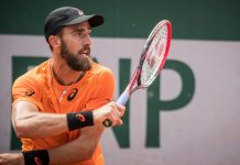 Steve Johnson, French Open 2017
