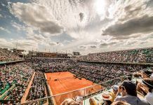 Court Philippe-Chatrier. Roland Garros. Paris. French Open 2017